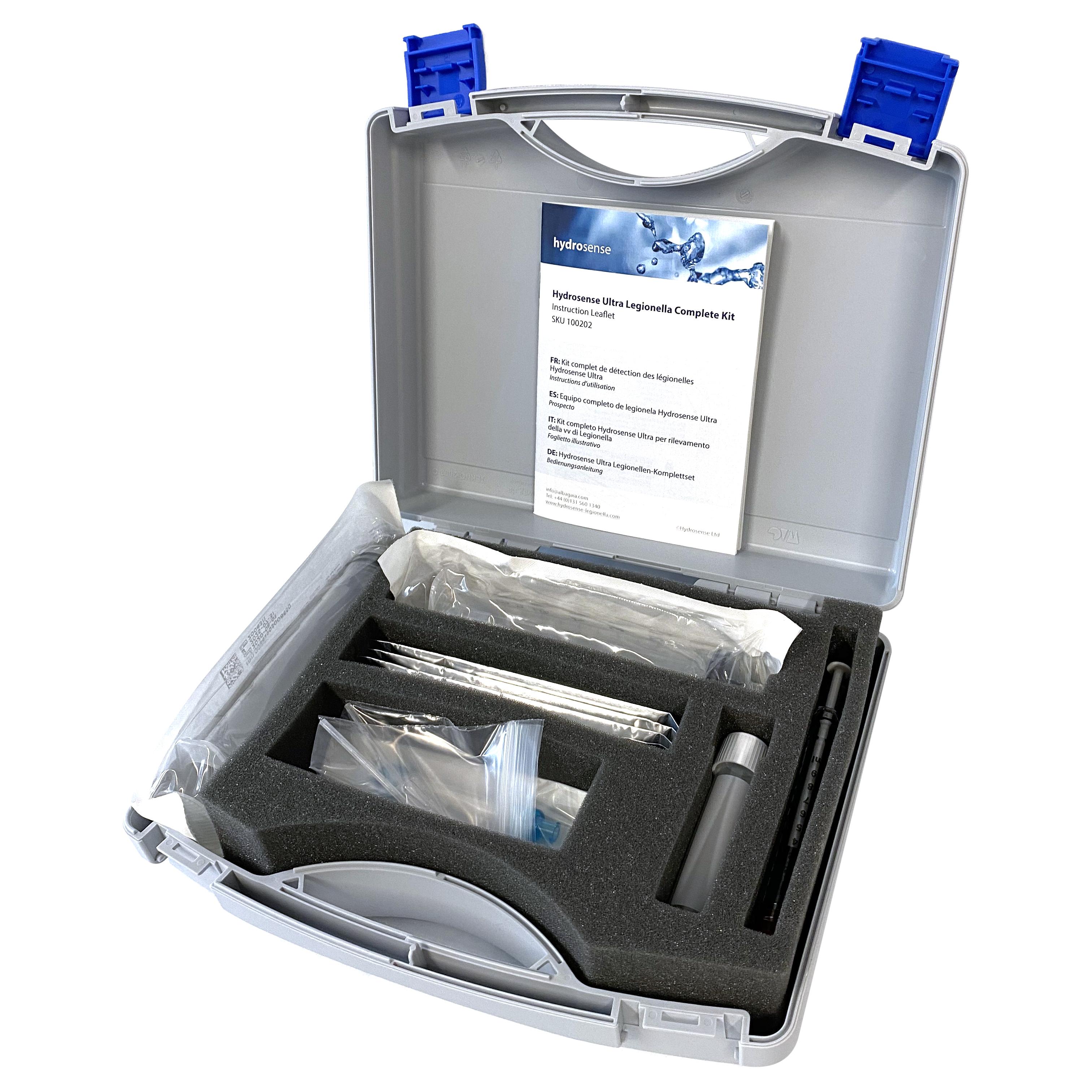 Hydrosense Multi Legionella Complete Kit Open White B 3