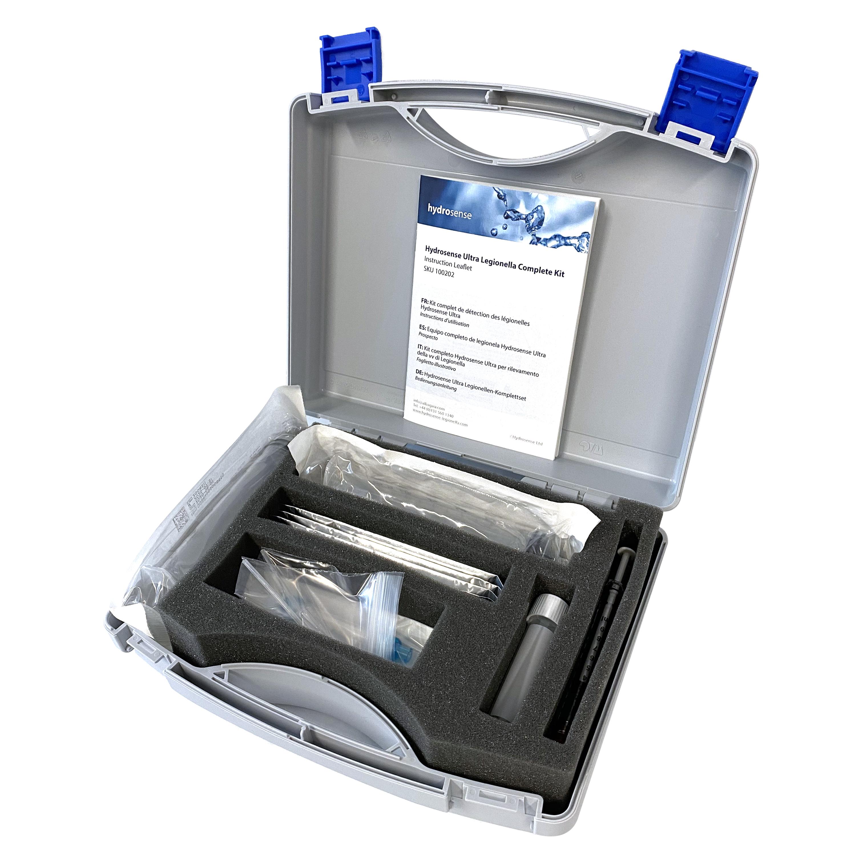 Hydrosense Multi Legionella Complete Kit Opne White B 4