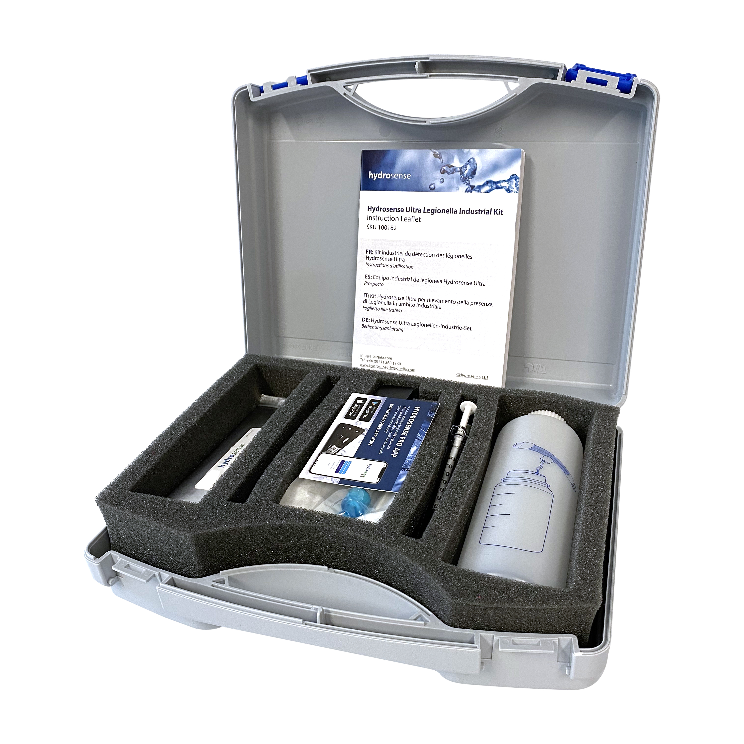 Hydrosense Ultra Legionella Industrial Kit Open White B 4